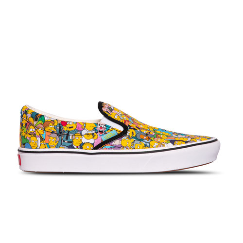 x The Simpsons Comfycush Slip On Springfield VN0A3WMD1TJ1