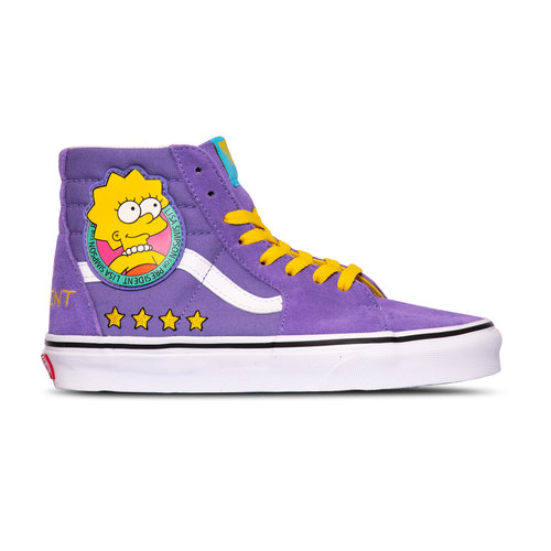 x The Simpsons SK8 Hi Lisa 4 Prez VN0A4BV617G1