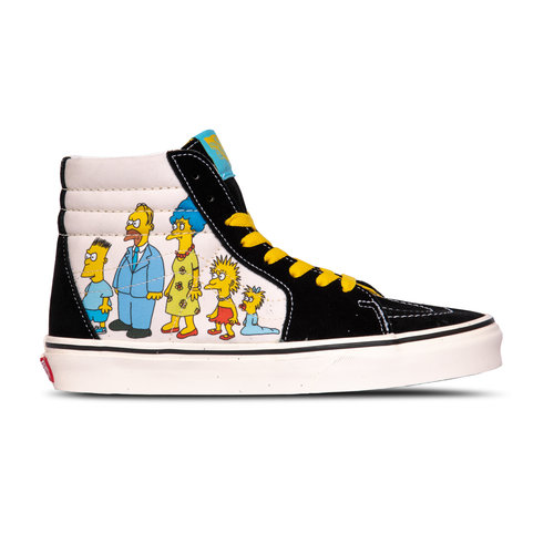 x The Simpsons SK8 Hi The Simpsons 1987-2020 VN0A4BV617E1
