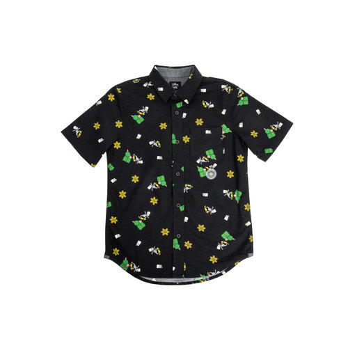x The Simpsons Houser Short Junior Sleeve Glow Bart VN0000U6OGY1