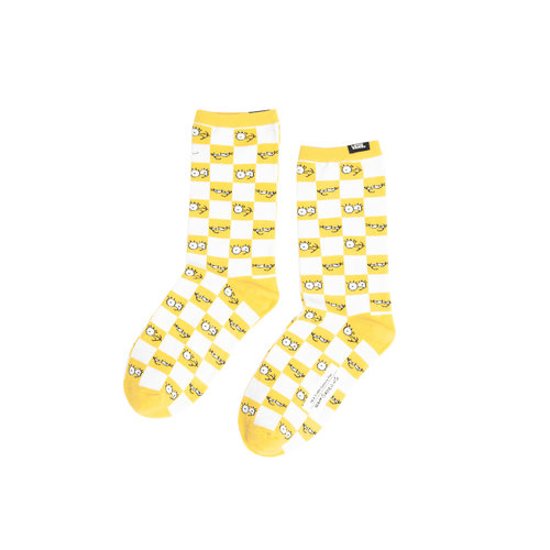 x The Simpsons  Block Socks VN0A4V46ZZY1