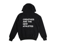 The New Originals Creatives Are The New Athletes Hoodie Speckled Black TNO23