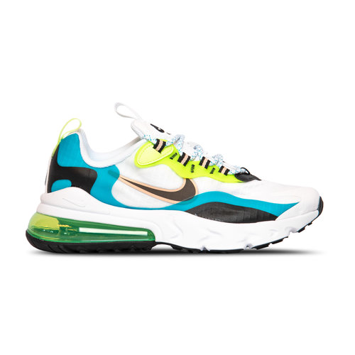 Air Max 270 React SE GS Oracle Aqua Black Ghost Green CJ4060 300
