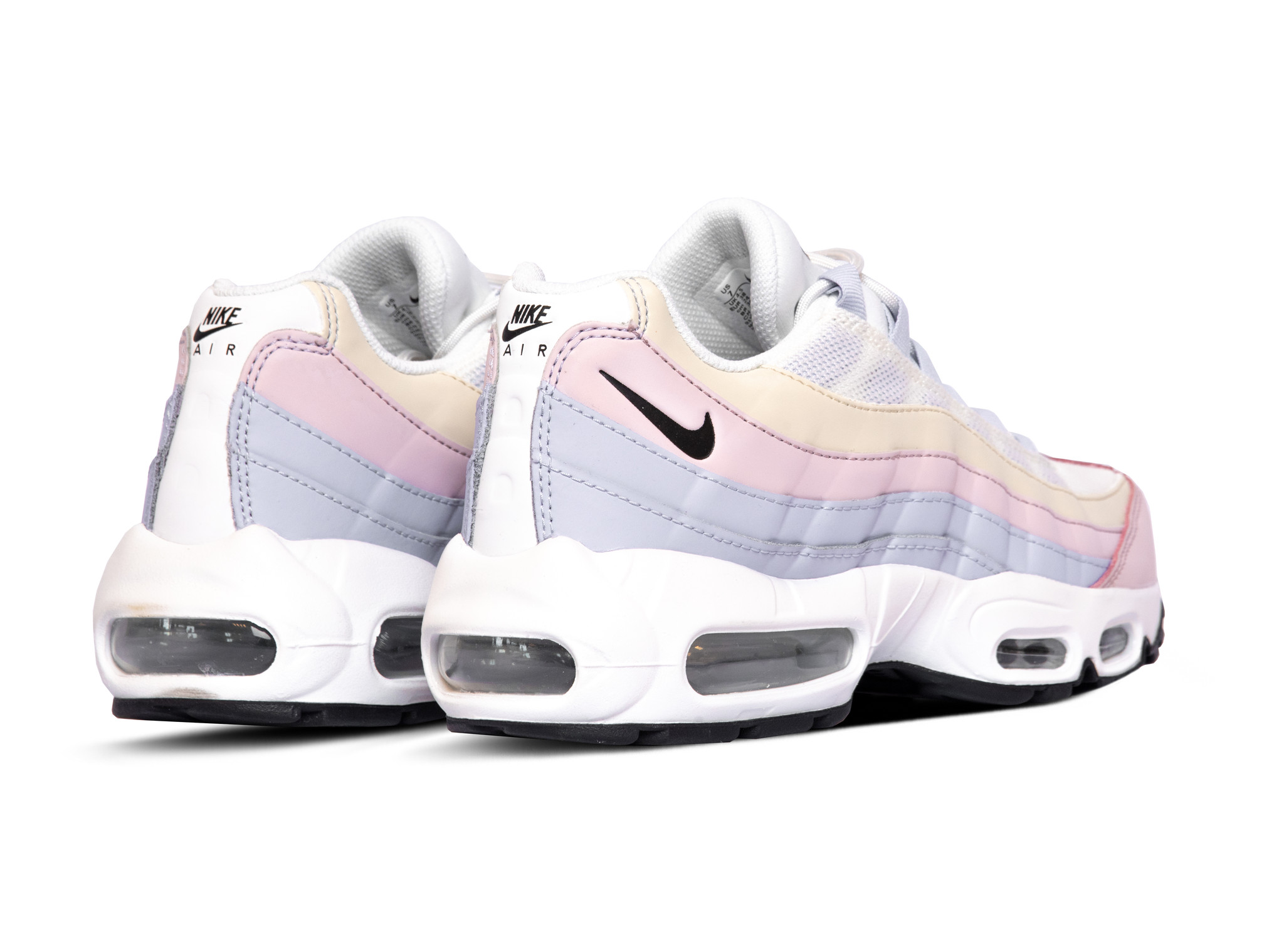 Nike W Air Max 95 Ghost Black Summit White Barely Rose CZ5659 001