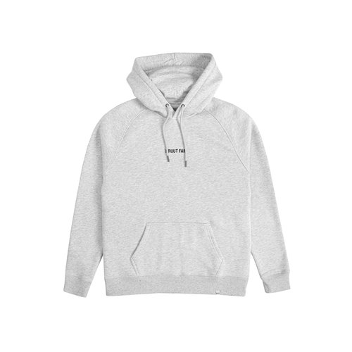 Gone For Today Hoodie Grey HFD123
