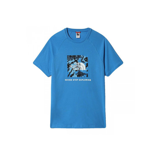 Rag Red Box Tee Clear Lake Blue NF0A3BQOVU31
