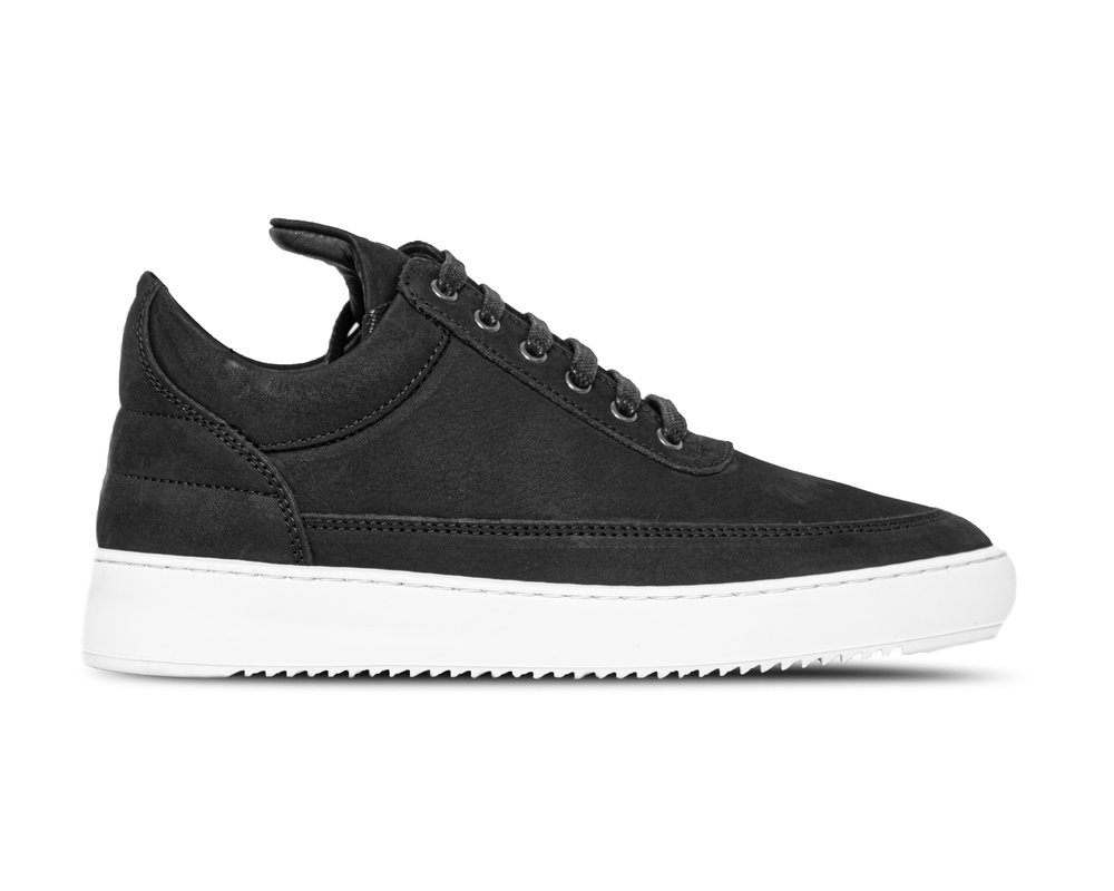 Filling Pieces Low Top Ripple Basic Black 2512172
