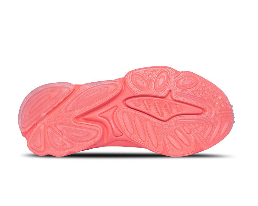 Adidas Ozweego Talc Signal Pink Solar Gold FV9747