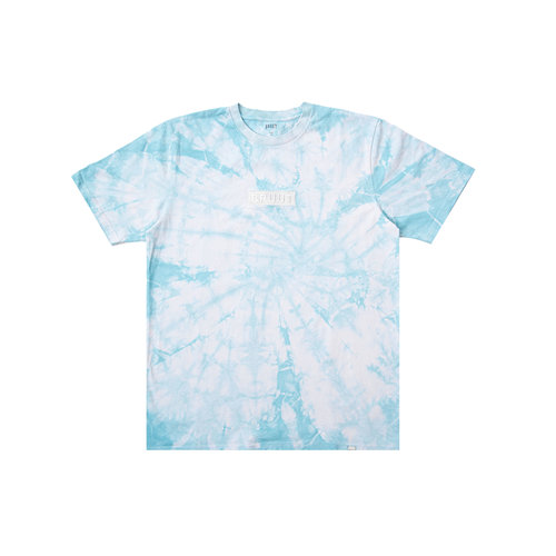 Box Logo Tie Dye Cool Blue HFD065