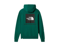 The North Face Raglan Redbox Hoodie Evergreen NF0A2ZWUNL11