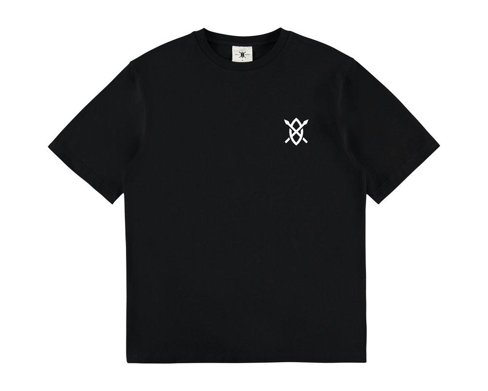 Daily Paper Amsterdam Store T Shirt Black 19E1TS01 01