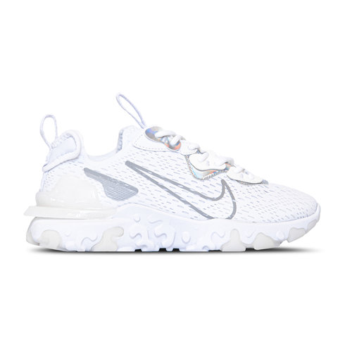 NSW W React Vision Essential White Particle Grey CW0730 100