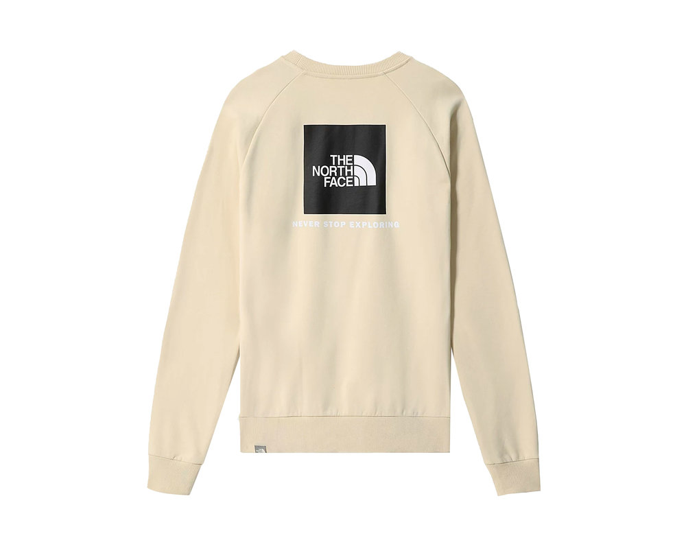 The North Face Rag Redbox Crewneck Bleached Sand NF0A4SZ9RB61
