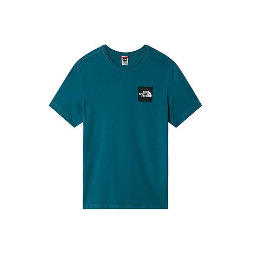 Blackbox Logo Tee Mallard Blue NF0A4SZ1Q311