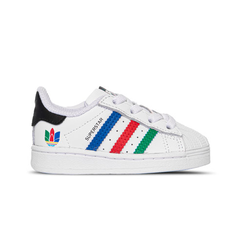 Superstar El I Cloud White Green Core Black FW5240