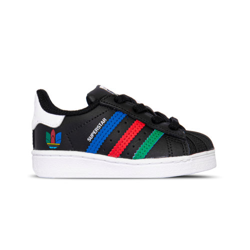 Superstar El I Core Black Green Cloud White FW5239