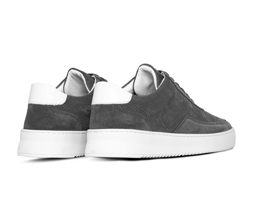 Filling Pieces Mondo Ripple Perforated Dark Grey 2452010 1874