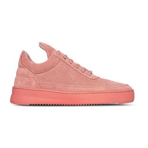 Low Top Ripple Suede Perforated Pink 2512704 1898