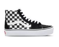 Vans Sk8 Hi Platform Checkerboard True White VN0A3TKNQXH