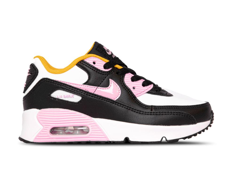 Nike Air Max 90 LTR PS Black Arctic Pink White Dark Sulfer CD6867 007