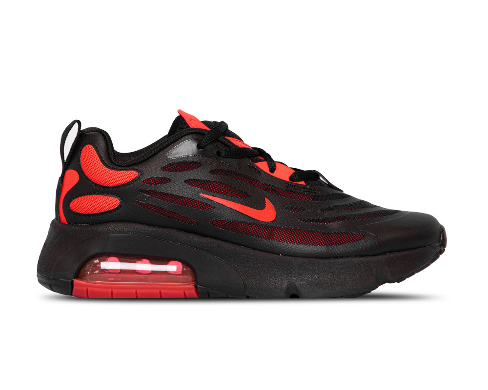 Nike Air Max GS Exosense Black Chile Red Black CN7876 001
