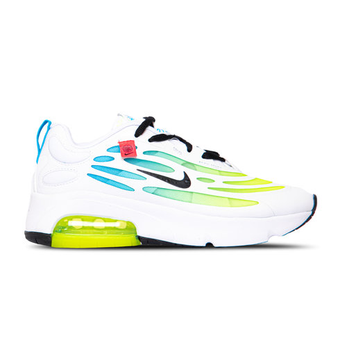 Air Max Exosense SE GS White Blue Fury Volt Black CV8130 100