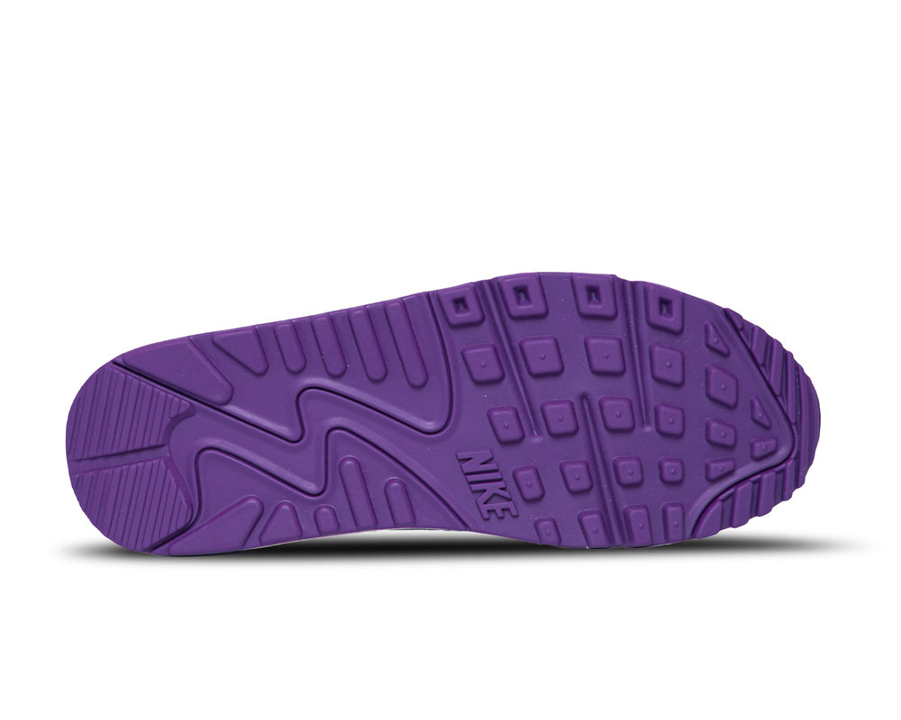 Nike Air Max 90 White Voltage Purple Black CT1028 100