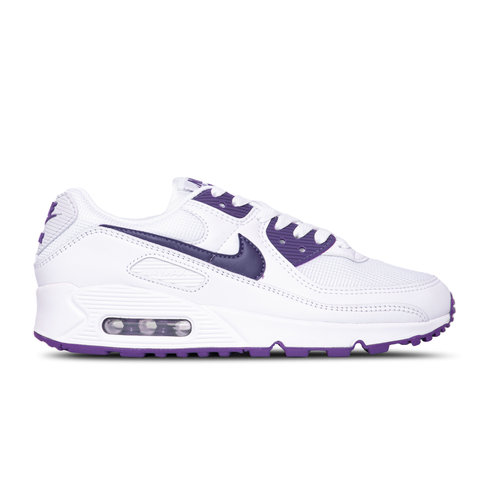 Air Max 90 White Voltage Purple Black CT1028 100