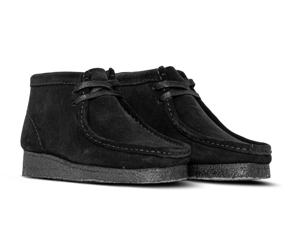 Clarks Originals Wallabee Boot Black Suede 261555214