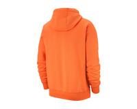 Nike NSW Club Fleece Hoodie Electro Orange White BV2654 837