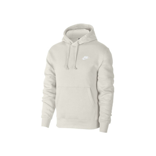 NSW Club Fleece Hoodie Light Bone White BV2654 072