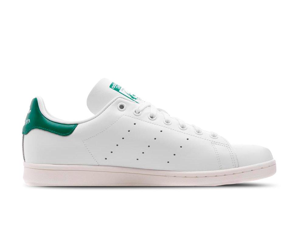 Adidas Stan Smith White Off White Bold Green BD7432