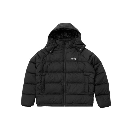 Joey Puffer Jacket Black AW20 079JB