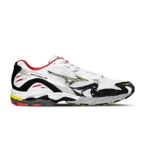 Wave Rider 10 White Black Racing Red D1GA203001