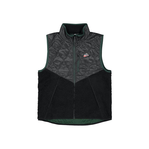 NSW Heritage Bodywarmer Black Black Pro Green CU4450 010