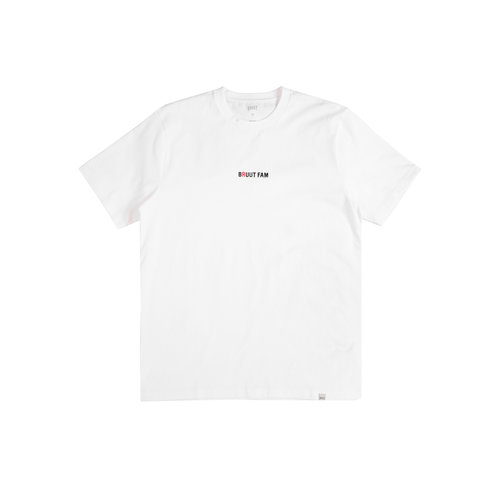 Basic Bruutfam Tee Cloud White Royal Red HFD137