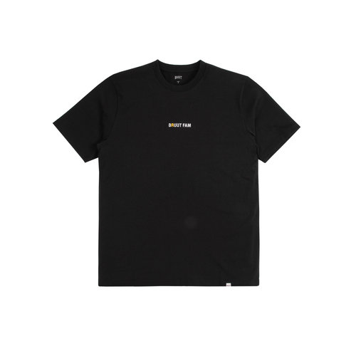 Basic Bruutfam Tee Black Yellow Raven HFD136