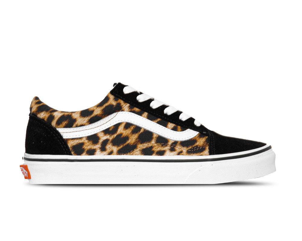 Vans Old Skool Leopard Black True White VN0A4U3B3I61