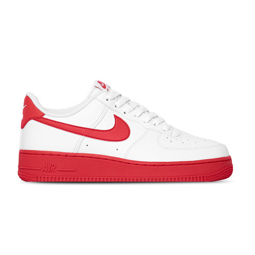 Air Force 1 07 White University Red White CK7663 102