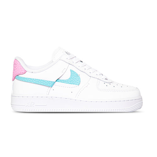 W Air Force 1 LXX White Bleached Aqua Pink Rise DC1164 101
