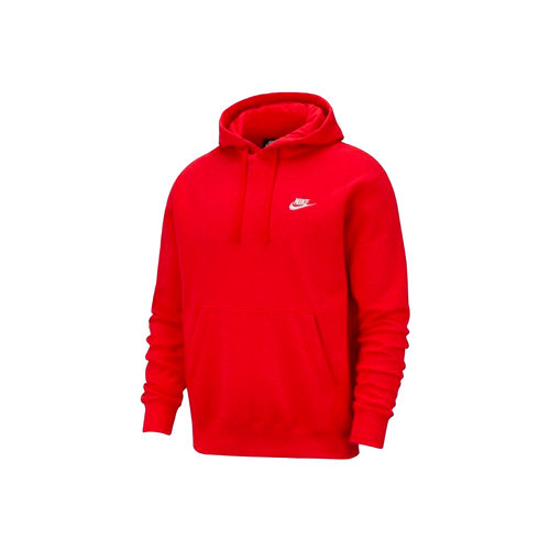 NSW Club Fleece Hoodie University Red White BV2654 657