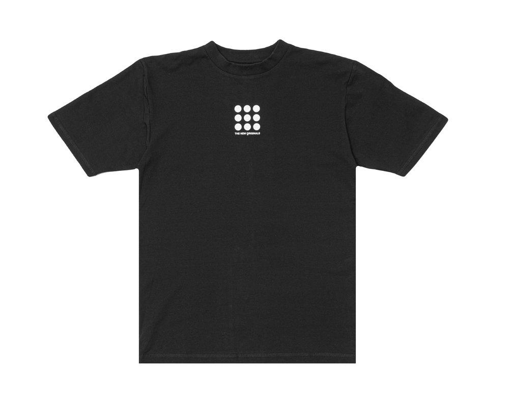 The New Originals Nine Dots Tee Black TNO55