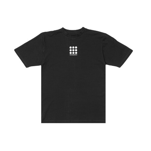 Nine Dots Tee Black TNO55