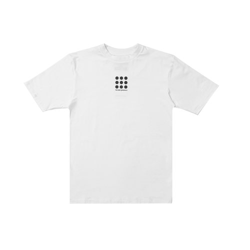 Nine Dots Tee White TNO56