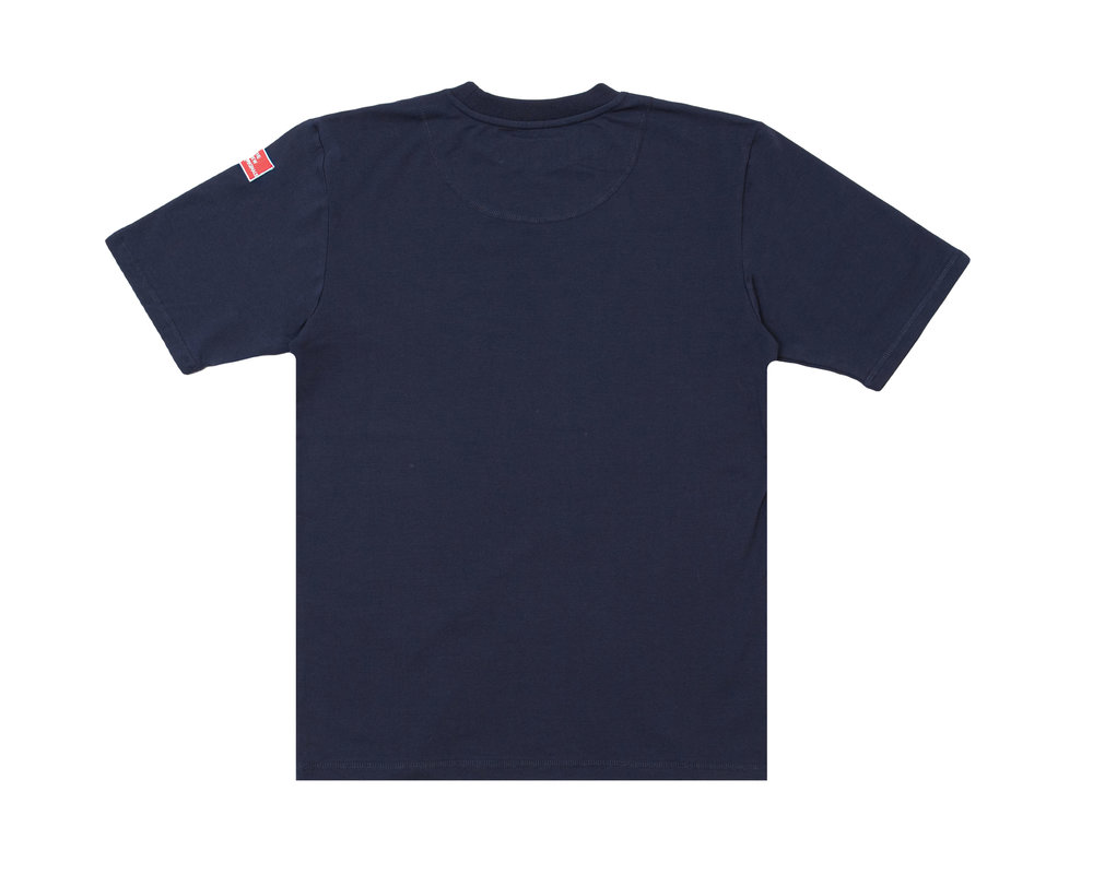 The New Originals Nine Dots Tee Navy Blue TNO57