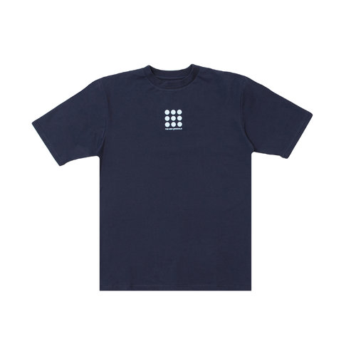 Nine Dots Tee Navy Blue TNO57