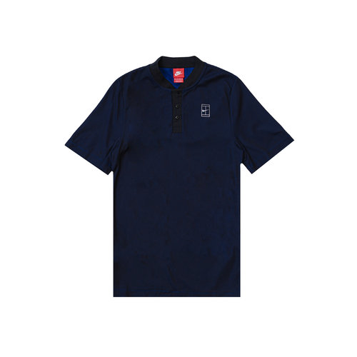 Court Polo Black Deep Royal Blue Metallic Silver 743996 011