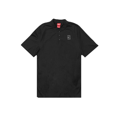 Court Polo Black Black White 743996 010