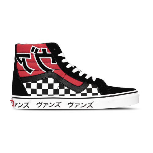 SK8 Hi Japanese Type Black Red VN0A2XSBSJY