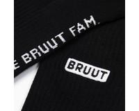 Bruut Double Up Sock Black BT002